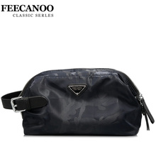 FEECANOO Fashion Brand Genuine Cow font b Leather b font Wallet Men Clutch Business Male Clutch