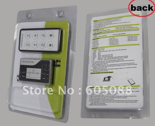 Wholesale ! New Mini design rgb led light lamp controller ,5pcs/lot, CE&ROHS,2 years warranty,Christmas promotion