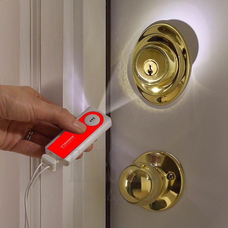 Security Portable Travel Door Alarm Entry Defense Intruder Alarm ...