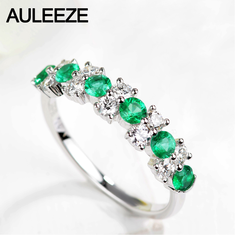 band etsy bargains gold on boylerpf emerald half wedding ring vintage stone diamond eternity bands stacking shop anniversary green
