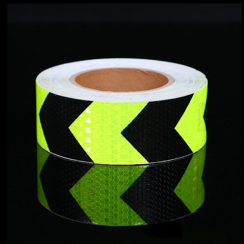 5cm Wdth Car Stickers Decals Reflective Stickers Strip Car Bicycle Reflective Tape Sticker Wheel Bike Bicycle Accessories