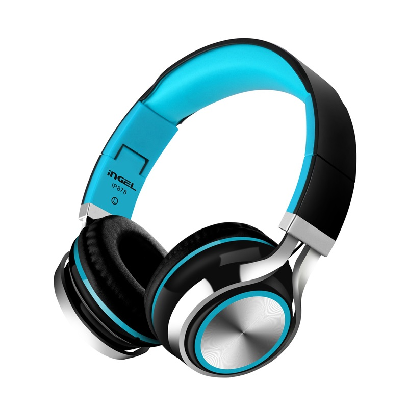 HD Stereo Wired headphones with 3.5mm plug foldable Gaming Headset Music Earphone For PC Laptop Computer Mobile Phone girls gift image