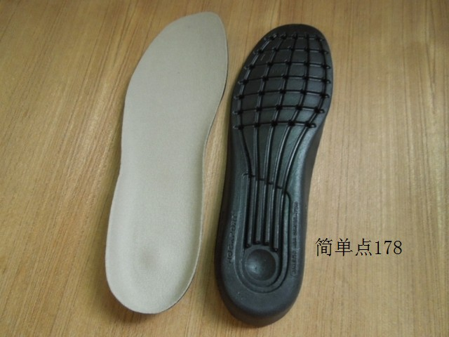 Rockport insole outdoor shoes pad sweat absorbing insole anti-odor insole  sport shoes pad leather