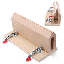 1pc Beech Wood Sewing Horse Hand-Stitched Leathercraft Table Pony Clamp Leather Stitching Pony