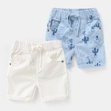 2019 Summer Beach Baby Infant Boy Shorts Casual Printed Children Pants Trousers Children Clothing Elastic Waist Thin Kids cartoon printing toddler boy shorts summer children clothing casual cotton beach shorts elastic waist baby girls pants kids 2 7y