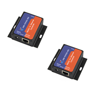 2PCS USR TCP232 302 Tiny Size Serial RS232 To Ethernet TCP IP Server Module Ethernet Converter
