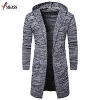 Hot Sale Mens Sweater Long Sleeve Cardigan Males Pull Style Cardigan Clothings Fashion Thick Warm Mohair Sweaters