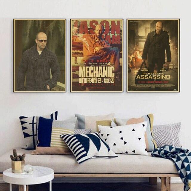 Die Maschinist Benutzerdefinierte Jason Statham Wohnkultur Moderne Für Schlafzimmer  Wand Poster Wandaufkleber