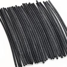 Cabos para fazer jóias de couro de arraia 21 5mm de diâmetro cm de comprimento 1pcs preto corda DIY pulseiras acessórios Atacado vindima