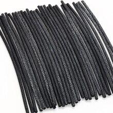 Stingray עור חבלים לתכשיטים ביצוע 5mm קוטר 21cm אורך 1pcs שחור חבל DIY צמידי אבזרים סיטונאי בציר