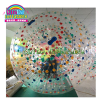 Hot Selling Adult and Kids Summer Water Games Inflatable Water Rolling Ball, Water Zorb Ball