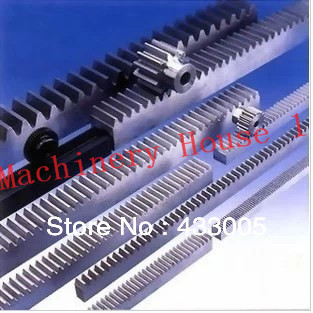 Mod 1.5 Gear Rack Right Teeth Set 15 x 15 x 1000mm /39.37'' Gear Pinion 22 Teeth  45# Steel 1 5mod 20x20x1000mm 16teeth gear rack and pinion gear rack rack and pinion gears spur gear