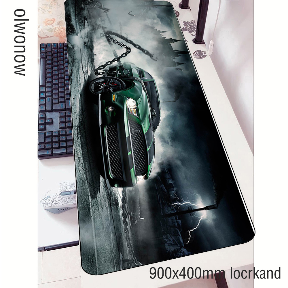 900x400x3mm Need for Speed mouse pads car pad to mouse notbook computer mousepad gaming padmouse gamer to keyboard mouse mat image
