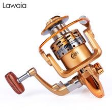 купить Lawaia Fishing Reel 12+1 Bearing Spinning Reels Stainless Steel Metal Front Unloading Spinning Wheel Fish Wheel Sea Reel Fishing недорого