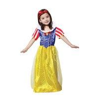 Sassy Prestige Snow White Long Dress Girls Princess Costumes Halloween Fancy Dress Up