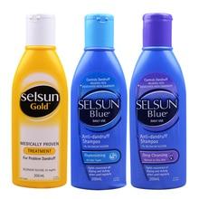 Selsun синий перхоти лечебные шампунь лечение против перхоти себорейный дерматит шампунь снимают шелушение зуд охлаждает кожу головы