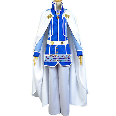 DJ DESIGN Snow White with the Red Hair Second Prince Zen Wistalia Uniform Cosplay Costume