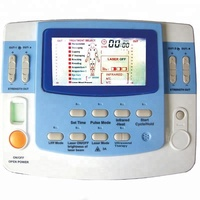 Low Frequency 9 Channels Clinic Use Ultrasound Medical Device TENS EMS Laser Infrared Heating With Eye Foot Massager EA VF29