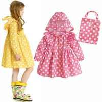 Impermeable para niños WINSTBROK 2019, Impermeable, ropa de lluvia para niñas, Impermeable para senderismo, Impermeable de moda para niños, Impermeable para bebés