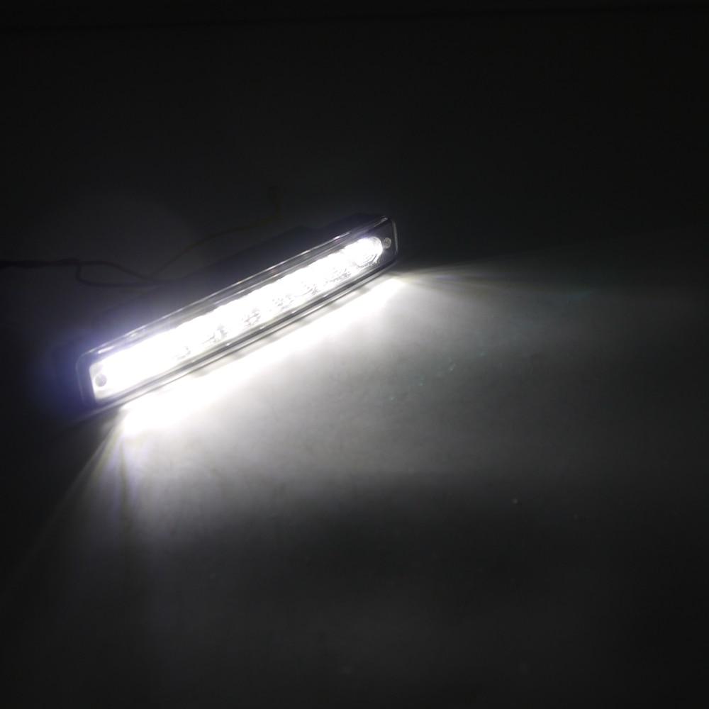 Eonstime 12V 2бр. DRL светодиодни дневни - Автомобилни светлини - Снимка 5