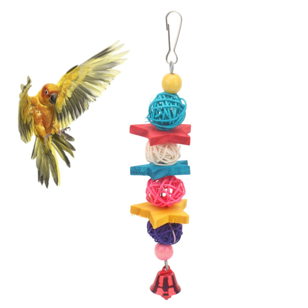 PipiFren Parrots Toys For Bird Cockatiel Accessories And font b Pets b font Cage Perch Budgie