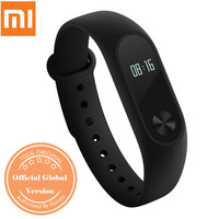 Global Version Xiaomi Mi Band 2 Wristband 2 Smartband OLED Display Touchpad Heart Rate Monitor Bluetooth