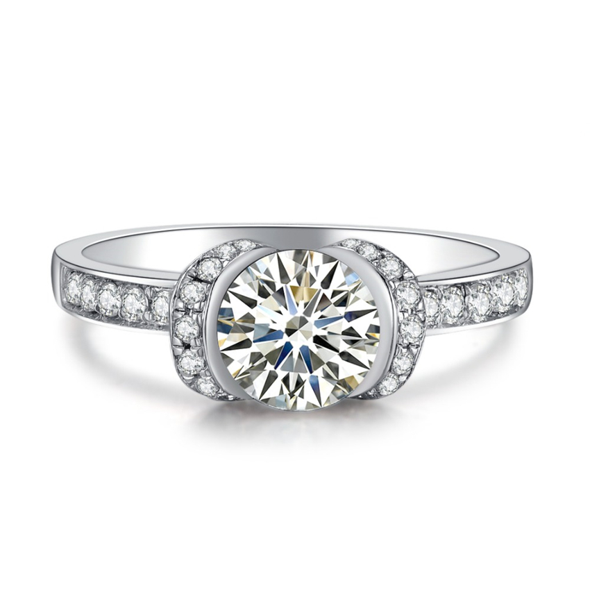 1CT Pure 14k Gold Merry Style Indigenous Fine Diamond ...