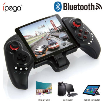 IPEGA PG 9023 Telescopic Gamepad Wireless Bluetooth Joystick Controller For Android IOS iphone 7 ipad