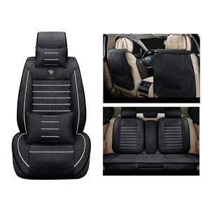 Image 5 - Universal flax car seat cover For Toyota Corolla Camry Rav4 Auris Prius Yalis Avensis SUV auto accessories car sticks