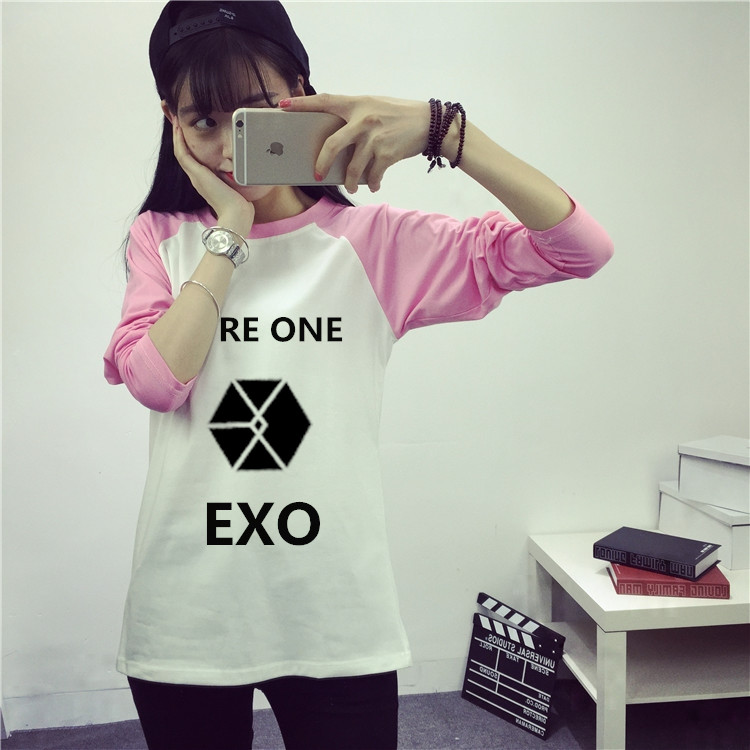 Women's Clothing We Exo Kpop Women Fall Winter Are A Long-sleeved Shirt Female Students K-pop Exo Hooded Sweatshirts Clothes Tops Outerwears
