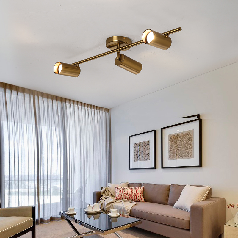 Modern Living Room Ceiling Light Fixture Nordic Rotatable Led Lamps For Spot Kitchen Lights Gu10 Bulb