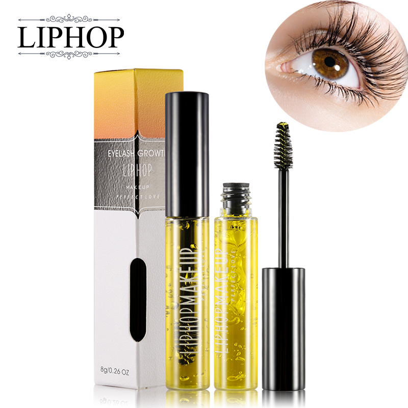 Liphop Professional Women Makeup Brand Powerful Eyelash Growth Treatment Liquid Serum Enhancer Eye Lash Longer Thicker