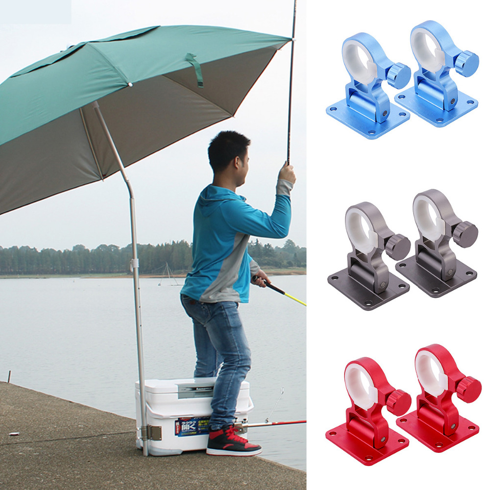Aluminum-magnesium Alloy Folding Umbrella Holder Stand For Fishing Umbrella Bracket Accessories Wall Mounted Umbrella Holder