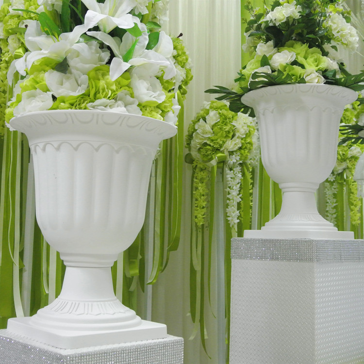 Wedding Road Cited Flower Pot Fashion Plastic Flower Pot Wedding Props Roman Flower Pots Wedding Flower Stand 8pcs Lot Pot Pictures Flower Pot Trellisflower Pot Productions Aliexpress