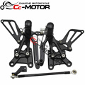 Motorcycle Rear Set Rearset Foot Pegs Bracket For Honda CBR600 F4I 2001-2007 02 03 04 05 06