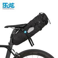 ROSWHEEL Waterproof Bike Bag Under Seat Packs Tail Pouch Cycling Bicycle Mountain Road MTB Bike Bicycle