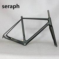 2019 SERAPH bikes Steckachse 142mm Verfügbar Kies 700C Carbon Fahrrad Rahmen  Kies Di2 carbon rahmen. Accetp nach farbe-in Fahrradrahmen aus Sport und Unterhaltung bei