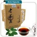 Yunnan Menghai Puer Maduro Velha Cabeça Chá Chá Orgânico Original Hoar geada para Os Cuidados de Saúde de Emagrecimento Pu'er Pu Er Pu-erh tea 250g