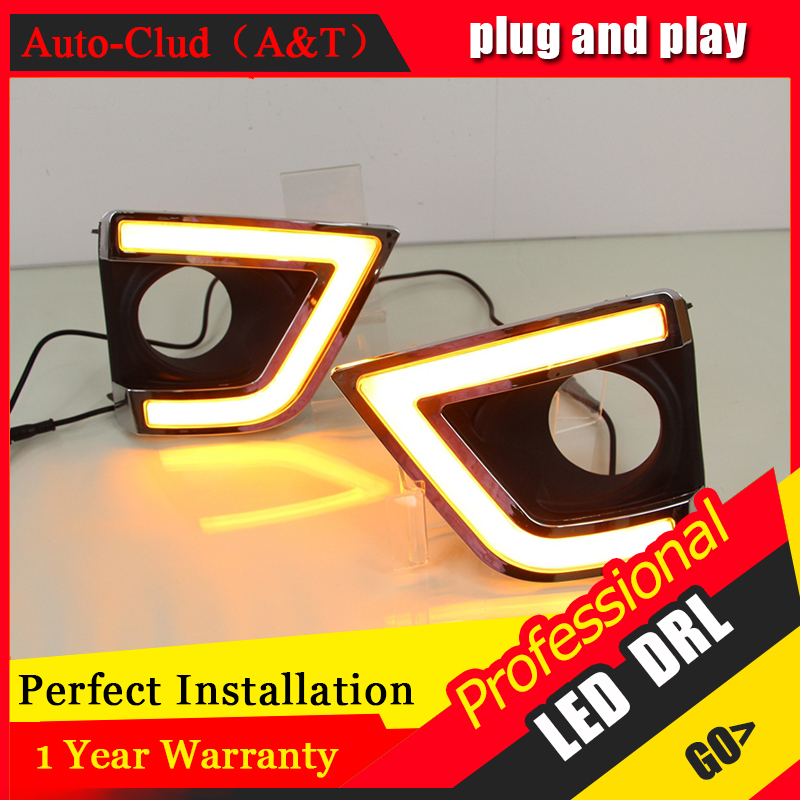 Auto Clud car styling For Toyota Corolla LED DRL For Corollar led fog lamps daytime running light High brightness guide LED DRL auto clud car styling for toyota highlander led drl for highlander high brightness guide led drl led fog lamps daytime running l