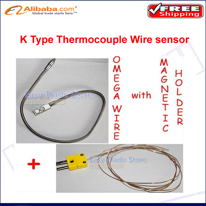 Omega Thermocouple Type T : Free shipping original omega k type thermocouple wire