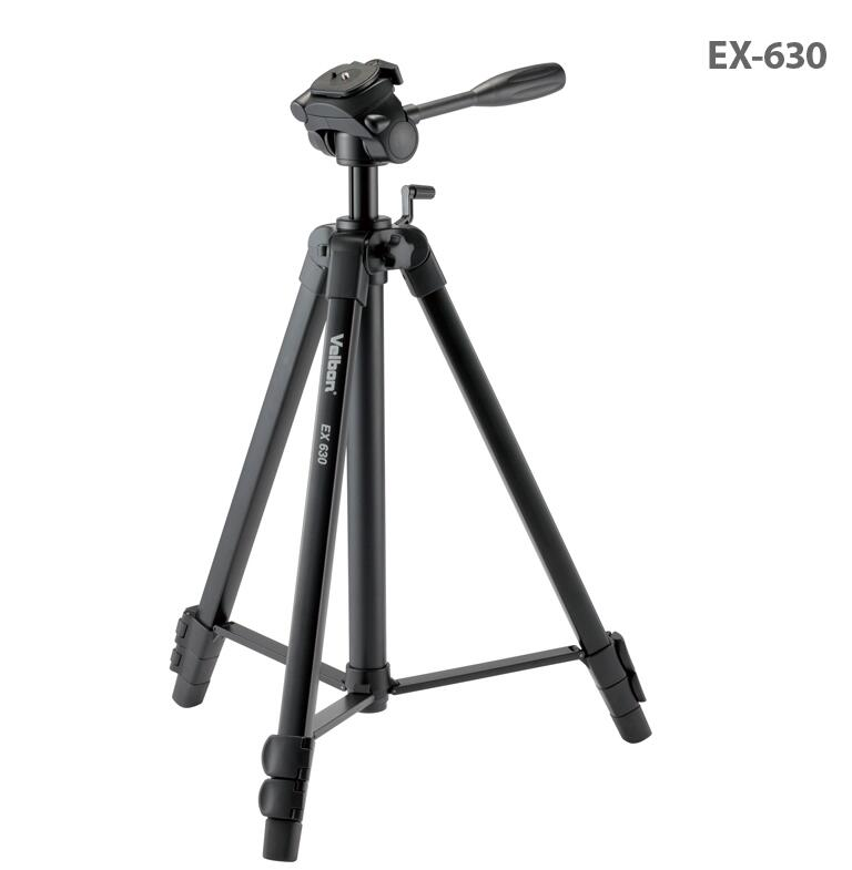 Free Shipping!!Velbon EX-630 Camera photo Tripod w/Panhead 1680mm Load:3kg grey red beige blue 4 color embroidery logo car seat cover front