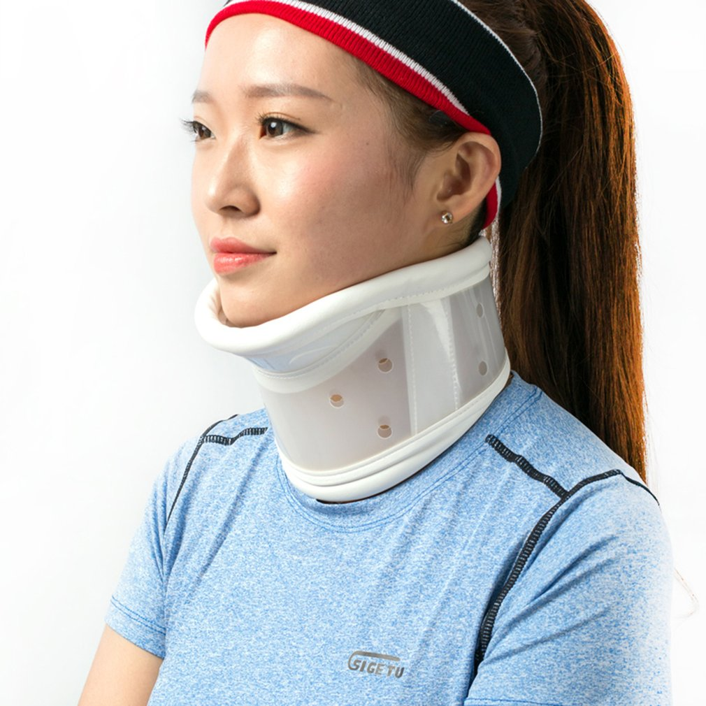 Breathable Neck Brace Medical Cervical Collar Neck Support Immobilizer Neck Pain Relief Neck Tractor Orthosis Braces NEW(China)