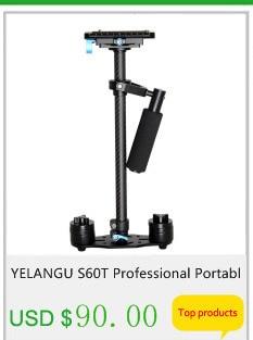 Yelangu s60t profissional portátil de fibra carbono