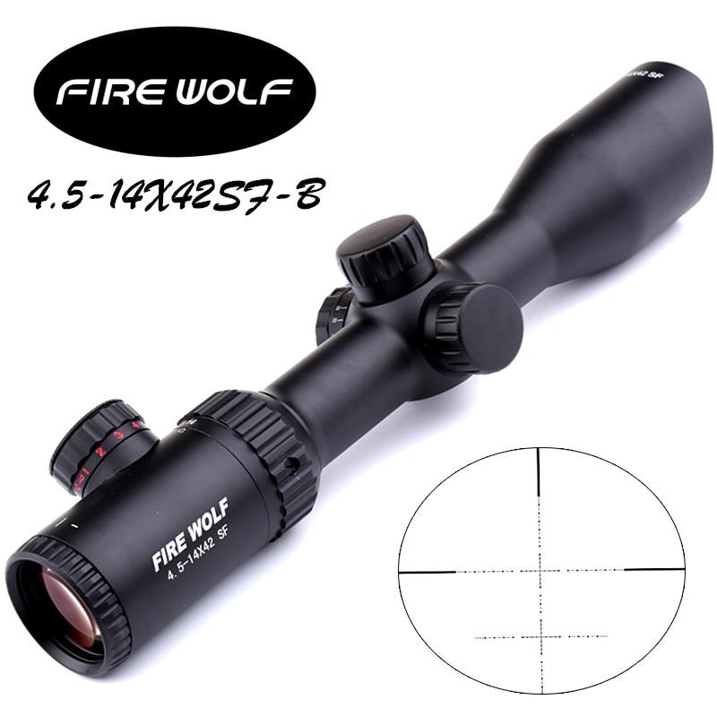 Eyebre 4.5-14X42 SF-B Riflescopes Rifle Scope Hunting Scope w/ Mounts  4.5-14X42 SF-B MM0009 2017 new fire wolf 4 5 14x42 sf b riflescopes rifle scope hunting scope fits for 11mm 20mm rail free shipping