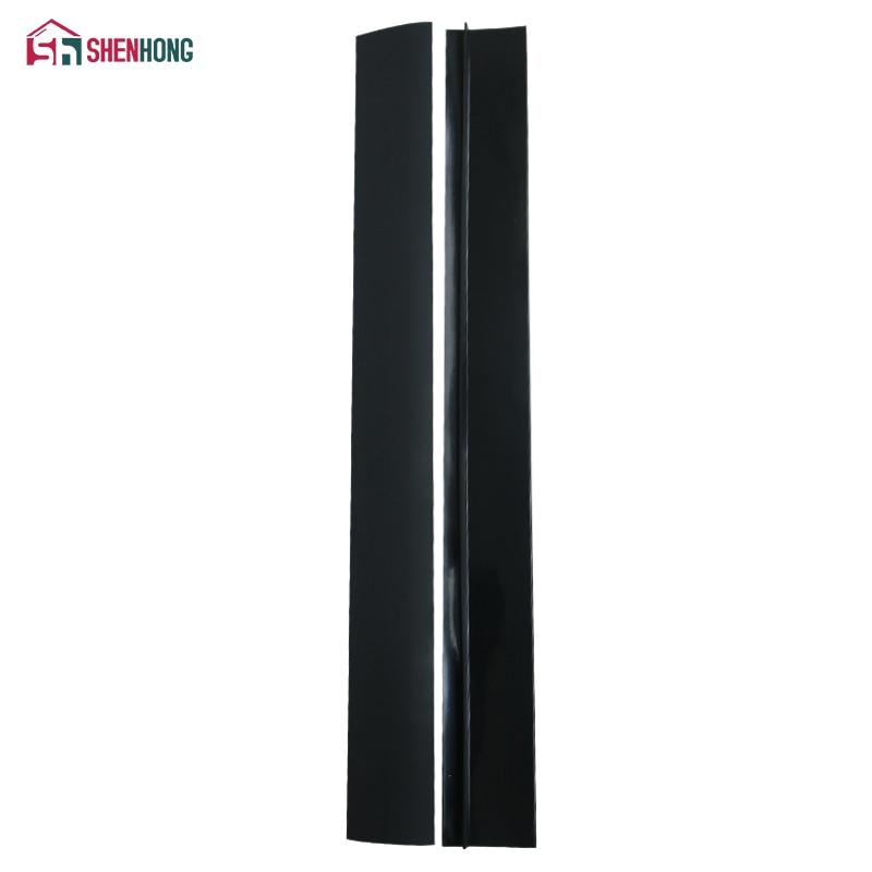 SHENHONG 2 Pcs/Lot Silicone Stove Counter Gap Cover Flexible Silicone Gap Covers Seal The Gap