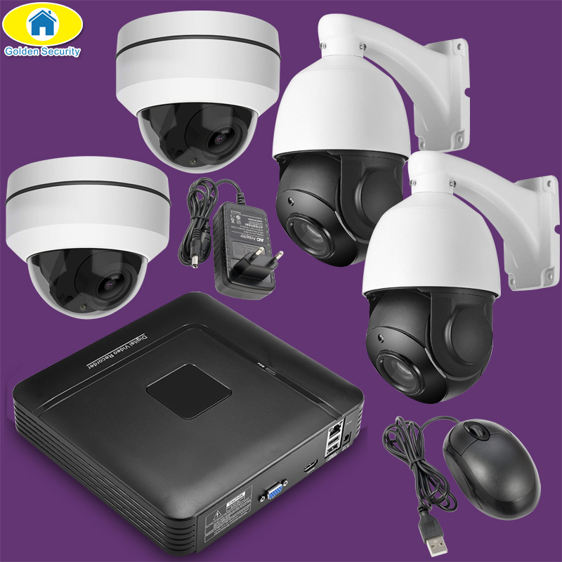 Wireless Security Camera System 16CH 4CH NVR Kit 1080P HD Outdoor IP Camera Waterproof Surveillance CCTV