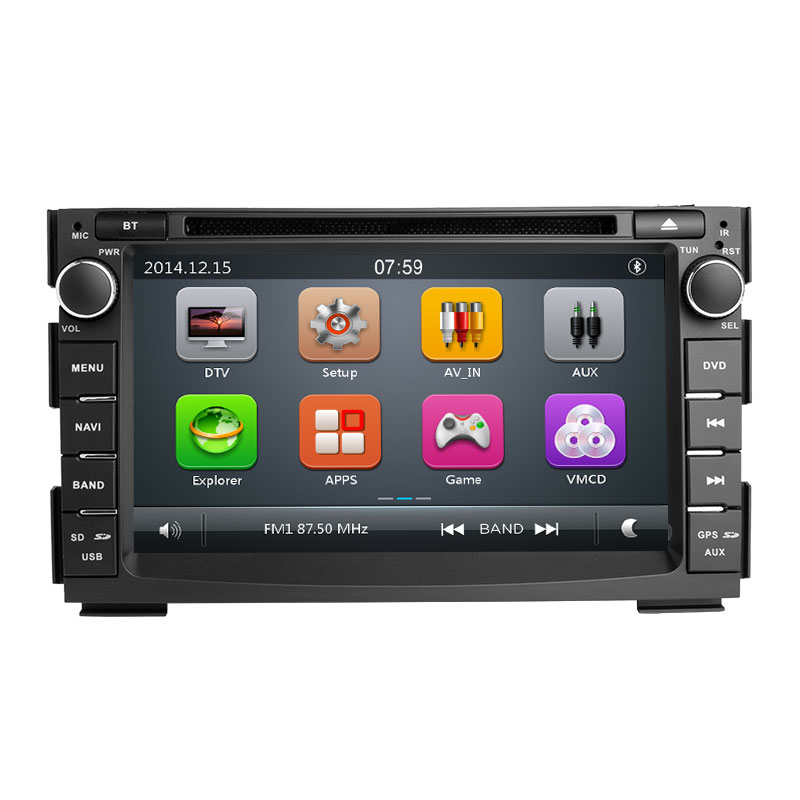 2 din Car Radio Car DVD Player Multimedia For Kia Ceed 2010 2011 2012 Venga GPS Glonass Navigation Audio Stereo Head unit Video in Car Multimedia Player from Automobiles Motorcycles