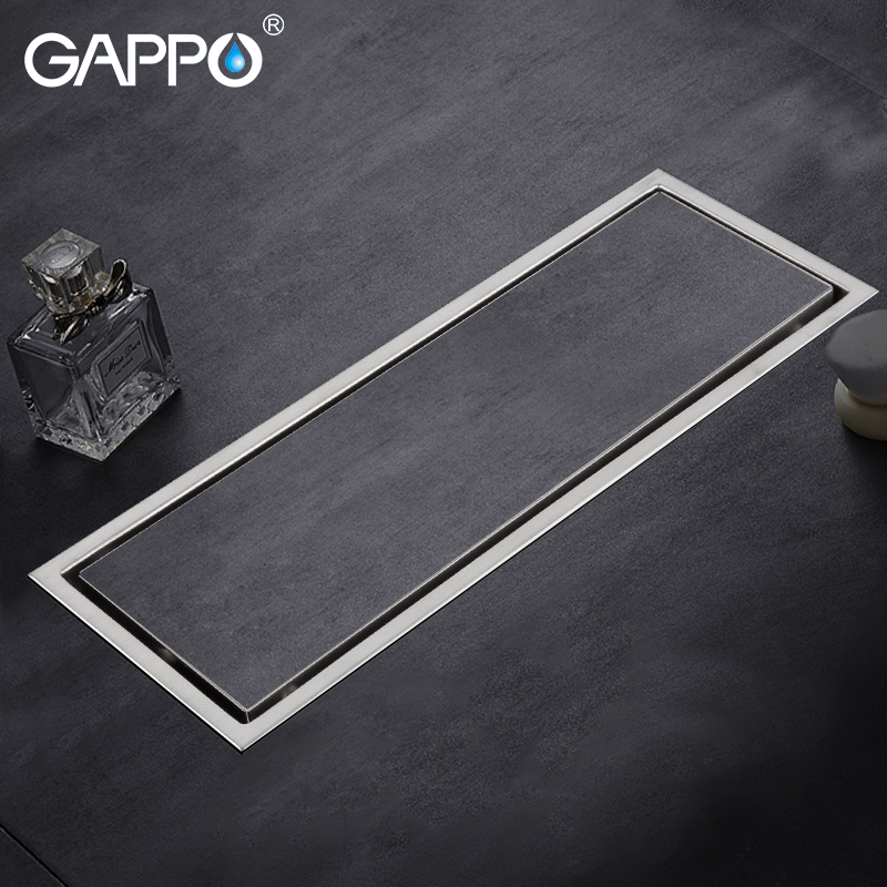 Gappo Drains Stainless Steel Recgangle Floor Cover