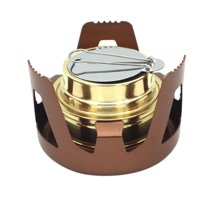 Strict Portable Outdoor Mini Portable Hiking Alcohol Burners For Outdoor Camping Bbq Spirit Alcohol Stove Furnace Backpacking