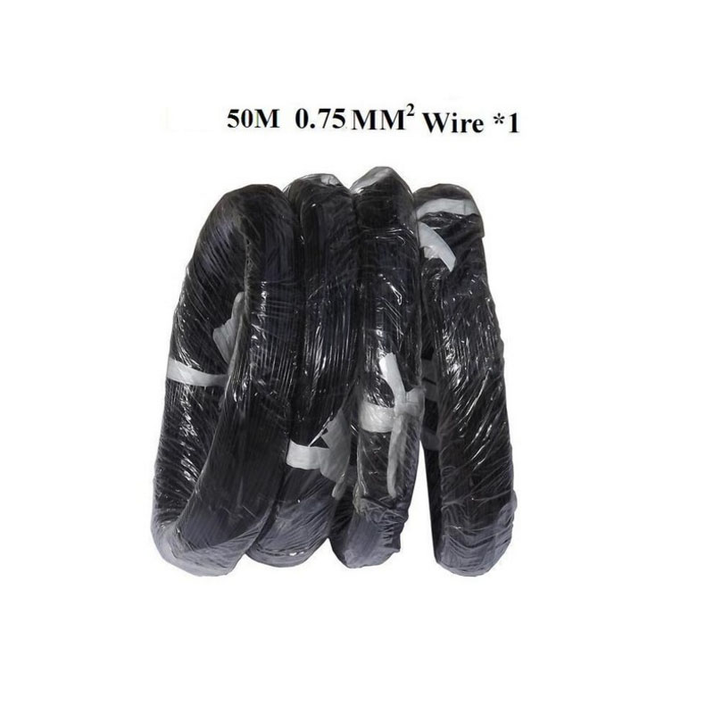 50m per pack loop cable coil wire for vehicle loop detector detection 0 75mm